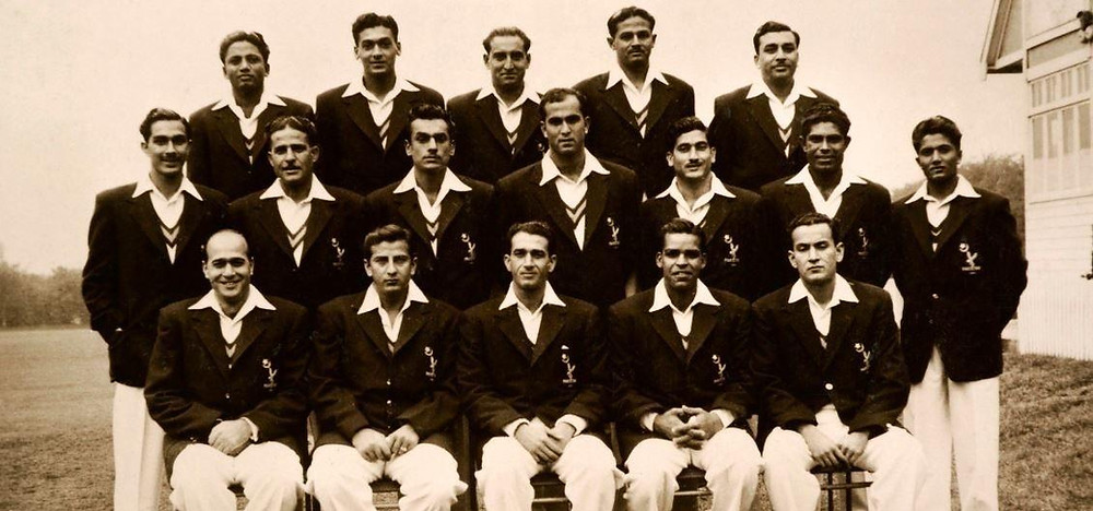 The Indian cricket teal in the early 1900s