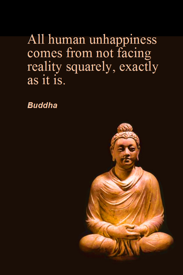 Buddha insight's about Human unhappiness