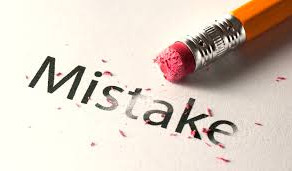 Your Response to Mistakes Defines You