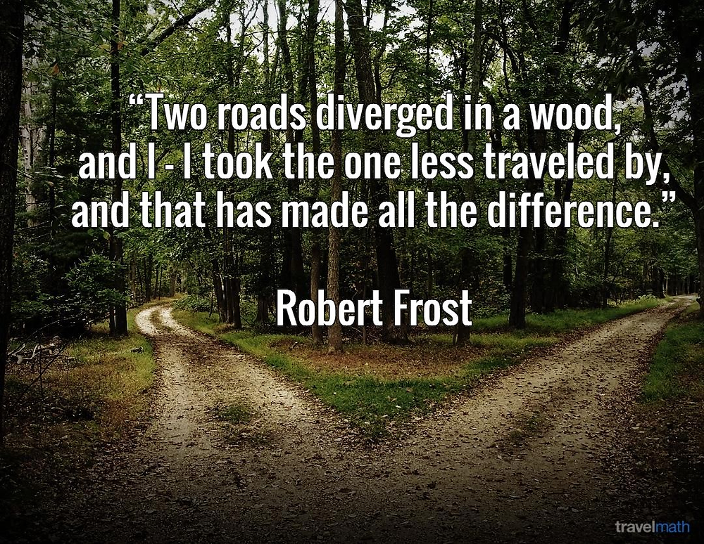 Motivational quote by Robert Frost