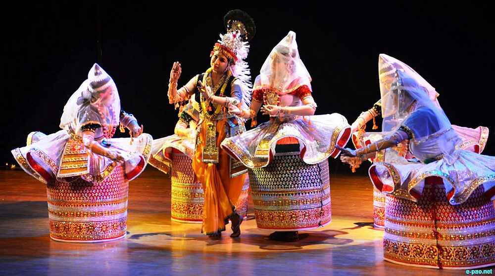 Folk Dance of Manipur