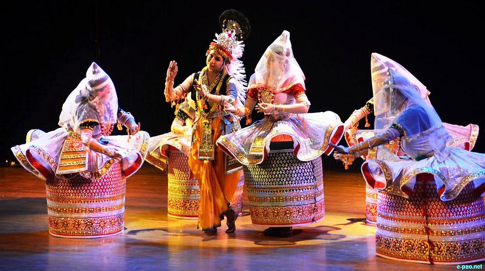 Folk Dance of Manipur