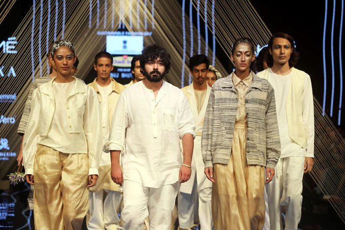 Khadi clothing design