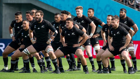 New Zealand Haka dance in the Rugby World Cup