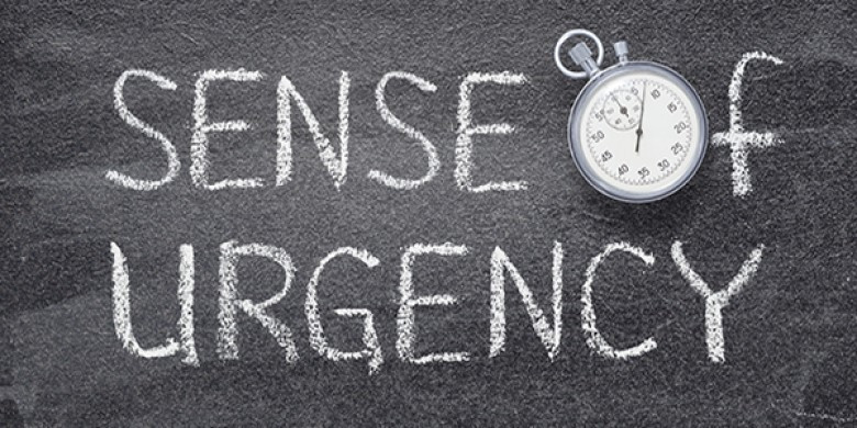 Create a sense of urgency to influence people at work