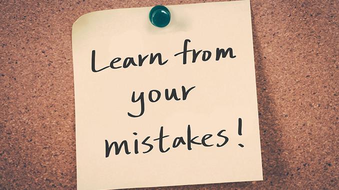 Response to mistakes