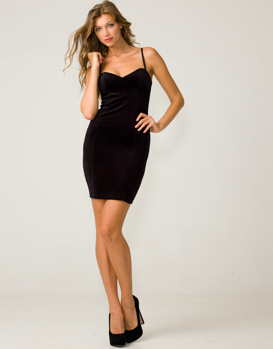 Party Look Black Dress