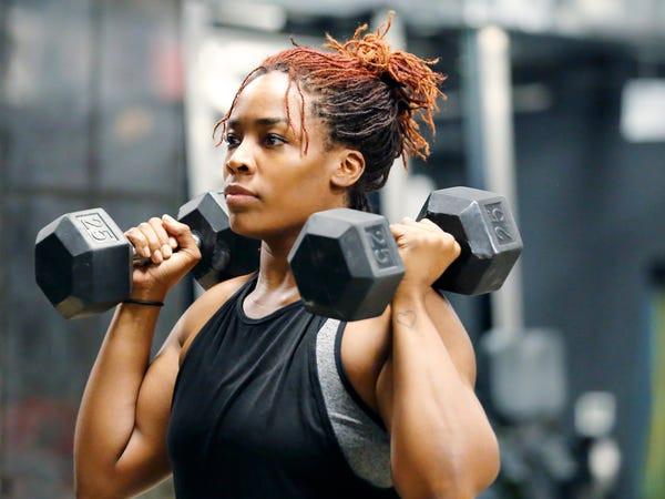 Inexorable Fitness freak women of Uganda
