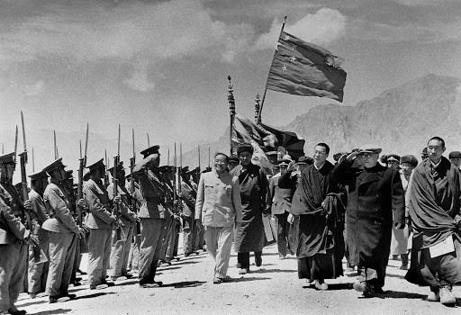 The takeover of Tibet in 1950's propaganda films