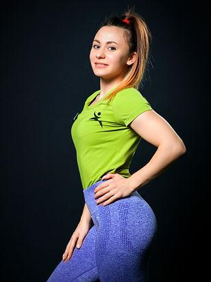 Тарасова Надежда, персональный тренер по фитнесу и бодибилдингу в фитнес-клубе Максфит Москва