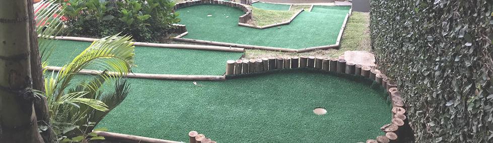 Quadra Mini Golfe