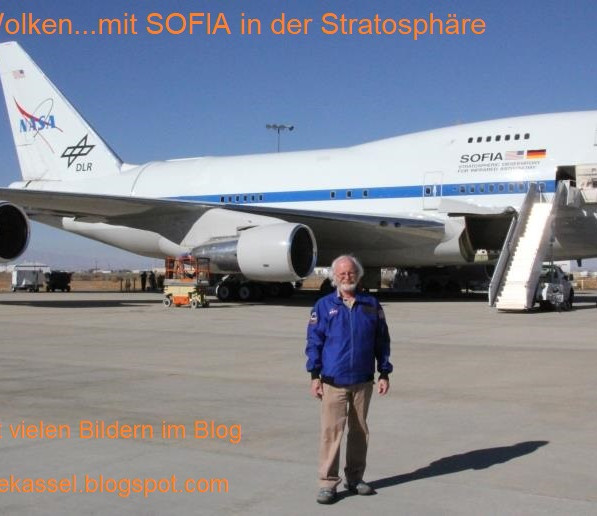 Flug mit SOFIA
