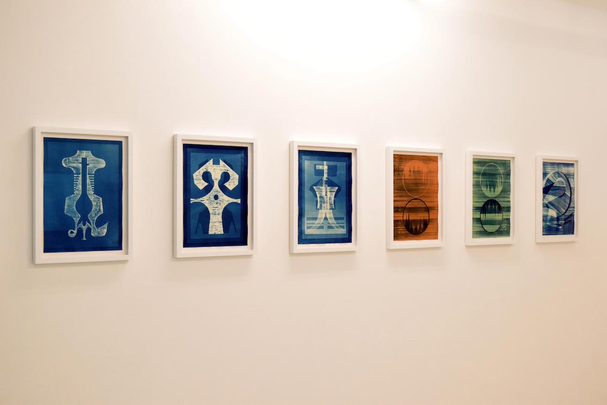 Fig 4, Installation photo of 'Schema' exhibition, 2020