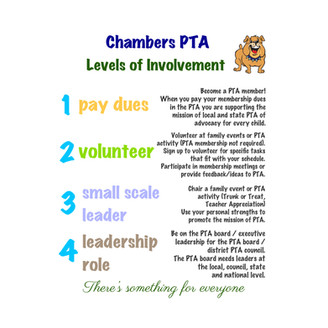PTA is Back - and WE NEED YOU!