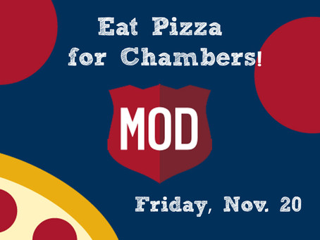 MOD Pizza Takeover Fundraiser for Chambers Primary PTA on Friday!