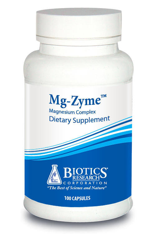 Mg-Zyme Magnesium (100 C) by Biotics Research