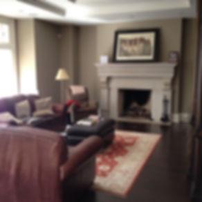 Toronto Family Room before