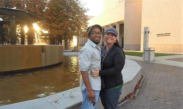 In Milwaukee with wife Trina.jpg
