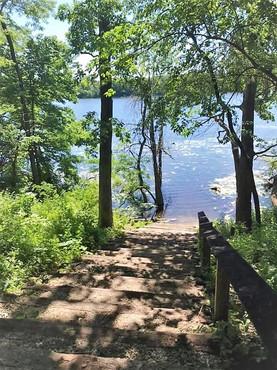 Near Storrs Lake in Milton, WI