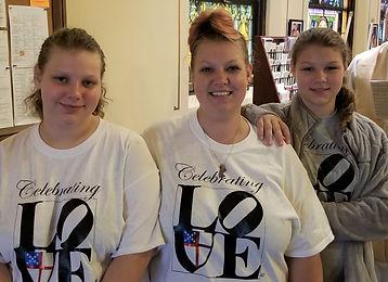 Door Greeters in new t-shirts.jpg