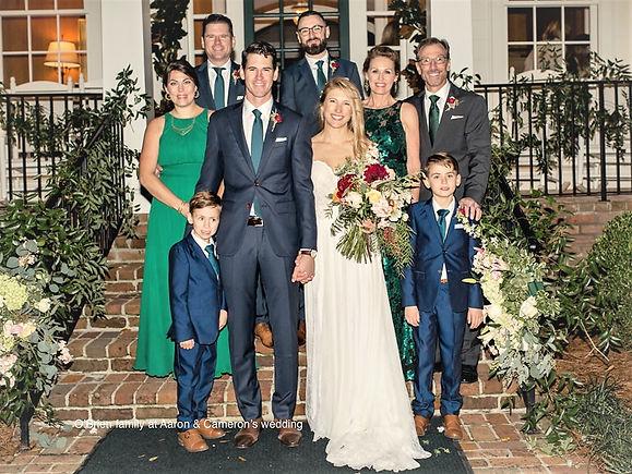 O'Brien family at Aaron's wedding.jpeg