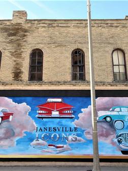 Janesville Circuit Mural by James Richter