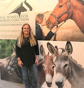 Dee Dee on Homes for Horses Coalition.jp