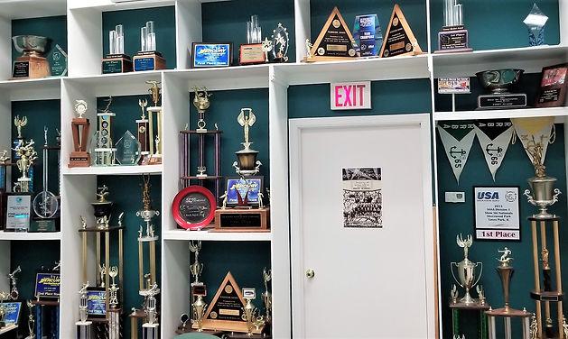Rock Aqua Jays Award Wall.jpg