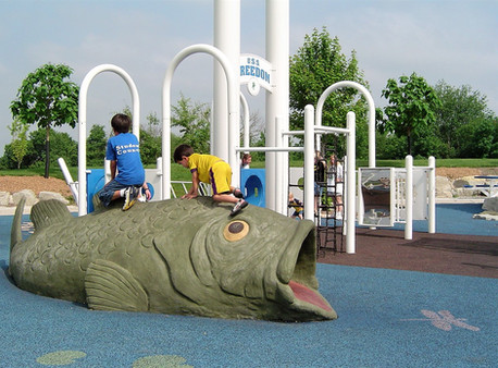 Children's Play Area at Peace Park