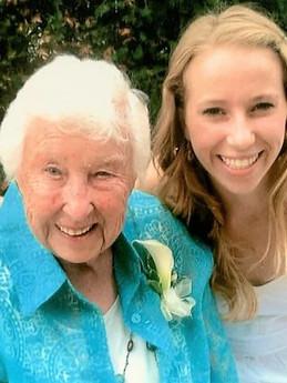 Nancy & granddaughter, Jane