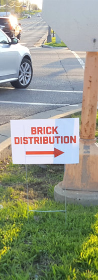 BHCCU Brick Distribution