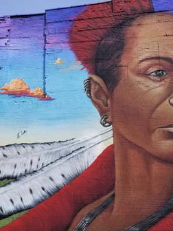 Black Hawk Mural by Jeff Henriquez