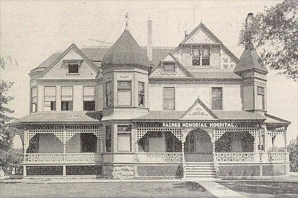Palmer Memorial Hospital in 1905.jpg