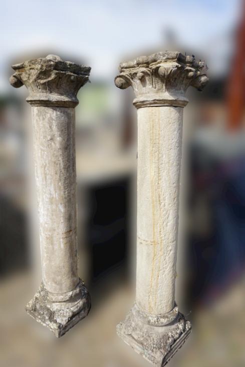 Antieke Barok zuilen