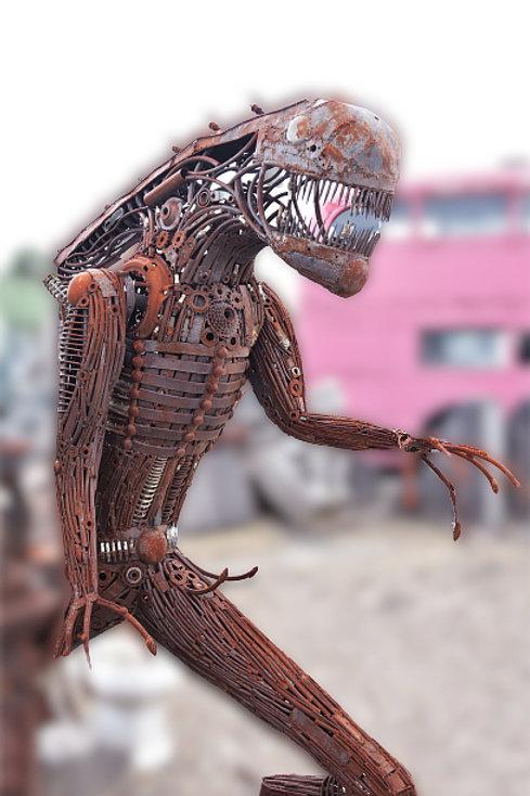 Alien (uit de film alien nagemaakt)