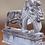 Thumbnail: Brullende leeuwen op sokkel