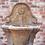 Thumbnail: Lichtkleurig Fontein met bloem & ornamenten
