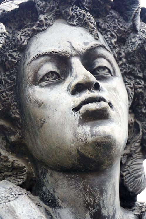 Vrouwelijk borstbeeld