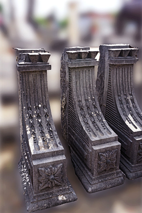 Portaalvoeten in Romeinse stijl