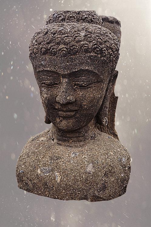 Glimlachende Boeddha