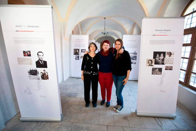 Exhibition in synagogue