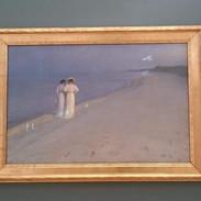 Jeden z obrazů v místním muzeu umění