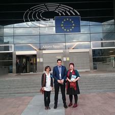 Lecture at European parliament