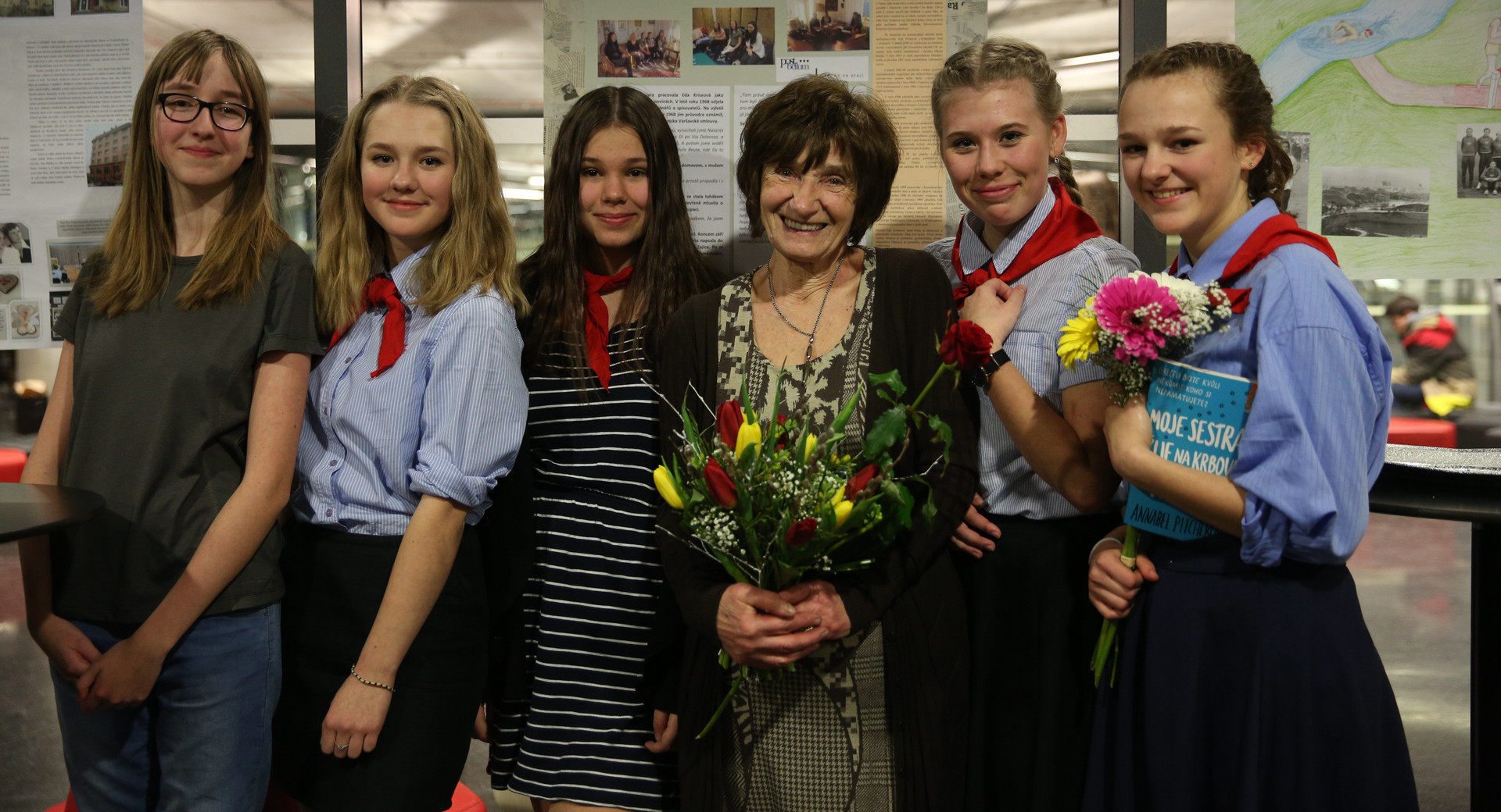 Students with Lina