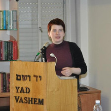 Lecture for Holocaust Memorial Yad Vashem