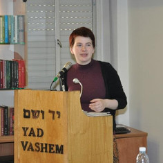 Lecture in Yad Vashem