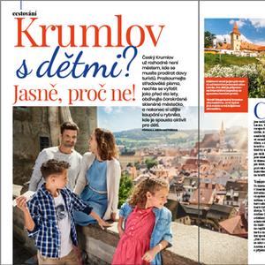 UNESCO city Cesky Krumlov, Czech Republic