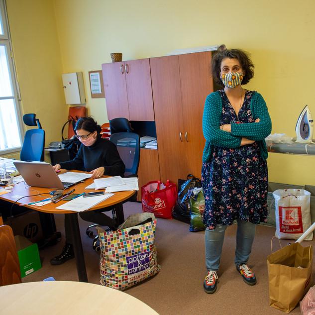 Martina Pojarova is a manager of caregiver centre in Prague 7