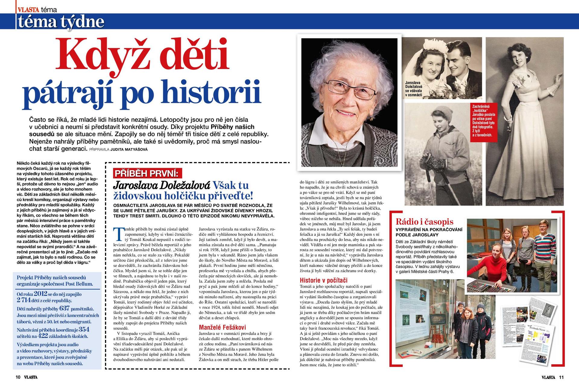 Story of Jarmila Dolezalova