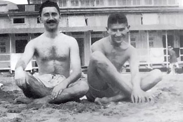 Kafka on the beach